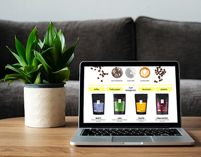 The Co-ffee Space Web Design