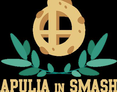 Apulia in Smash - Official logo + community t-shirt