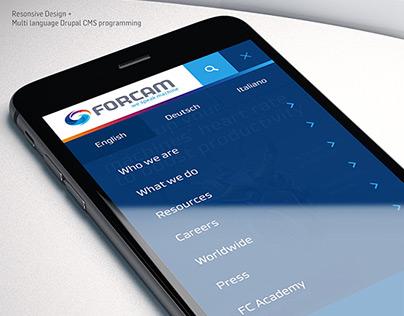 FORCAM Web Relaunch