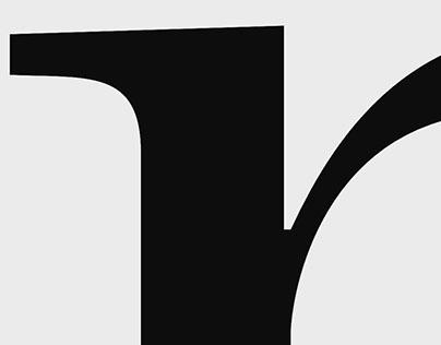 Galiano font inktrap detail