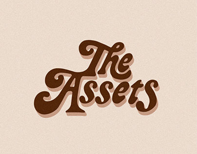 CUSTOM TYPE LOGO - The Assets