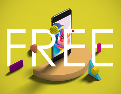 Free Devices with Shapes Mock-Ups