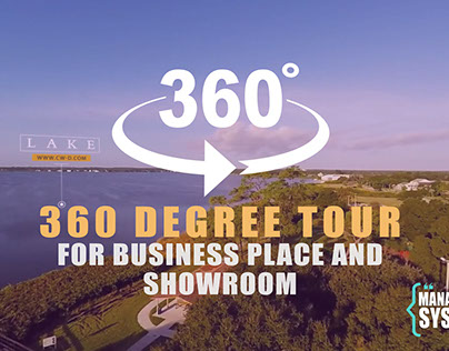 360 degree tour for business place and showroom
