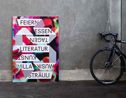 Villa Sträuli — Plakat