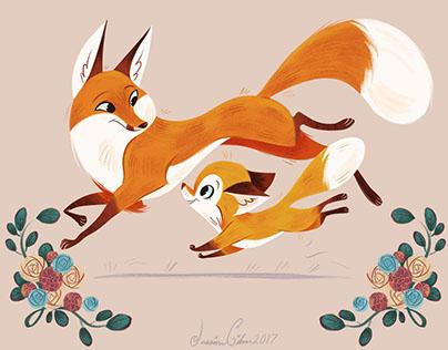 Mom & Baby Fox Project