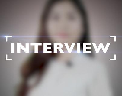 Essai Habillage TV Interview GMF