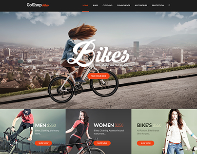 Go Shop Ecommerce PSD Template