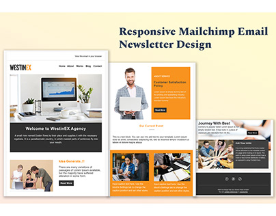 Mailchimp Email Newsletter Design