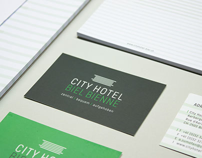 Corporate Design Business-Hotel