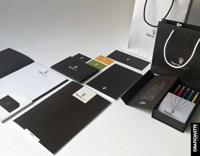 Immagine coordinata, stationary material, rebranding