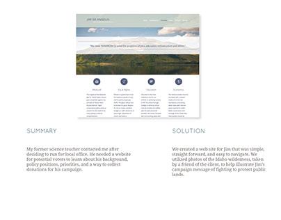 Jim De Angelis | Website Design