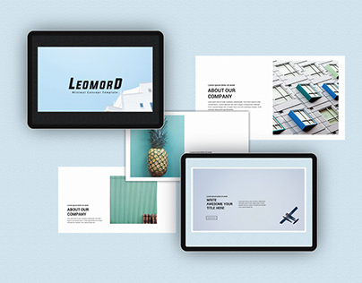 Leomord Presentation Template