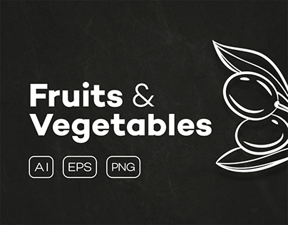 Fruits & Vegetables + Badges