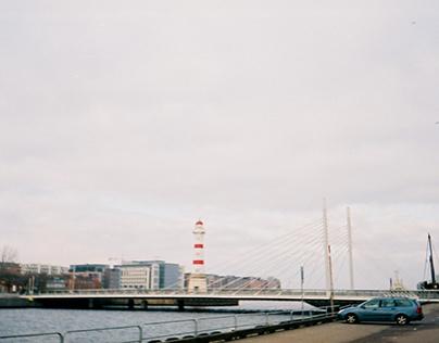Malmo and Goteborg, Sweden with Samsung film camera