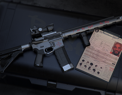 Masterpiece arms 9mm carbine on Behance