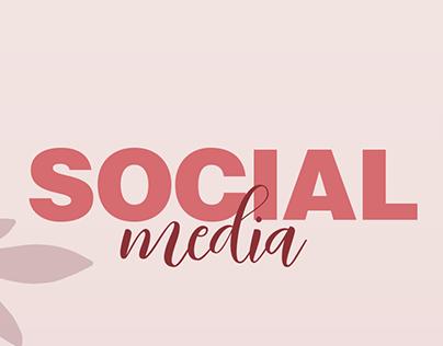 Social media - beleza e estética