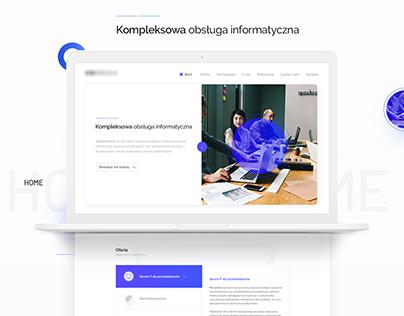 IT Company - Web Project