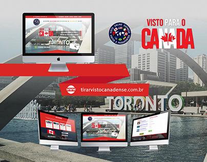 Web Design | Website Tirar Visto Canadense (VOE)