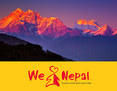 We Love Nepal - Webdesign for a Humanitarian Campaign
