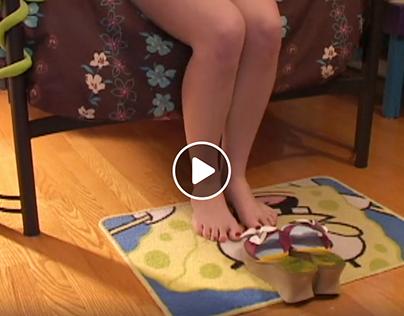 La vie selon mes pieds - Animation Stopmotion
