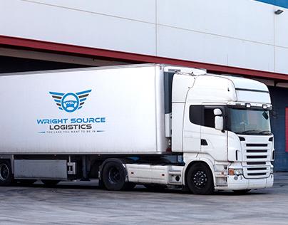 Wright Source Logistics- Logo Design.