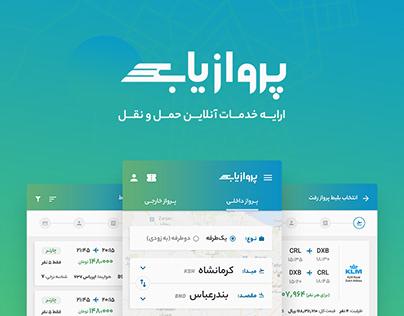 Parvazyab | User Interface Design