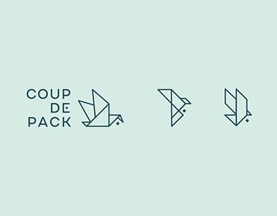 Coup de pack | Logotype