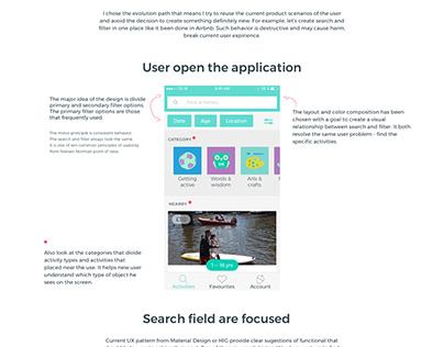 UX Research of mobile search