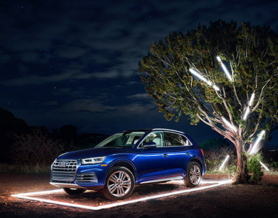 Audi Q5 - Nature vs Technology