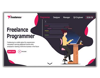 Freelancer design concept