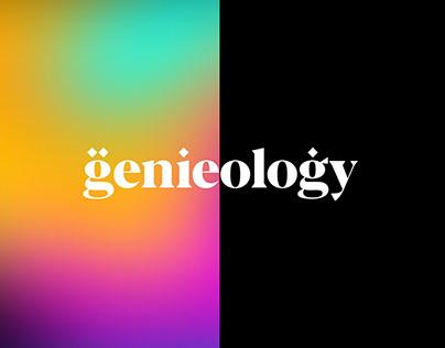 Genieology Brand Identity