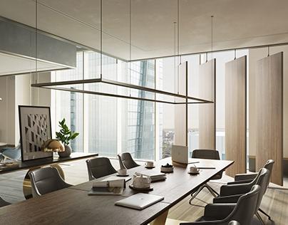 Creative Office in Abu-Dhabi Plaza