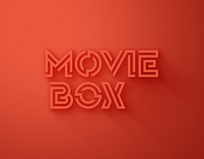 MovieBox Logo Redesign