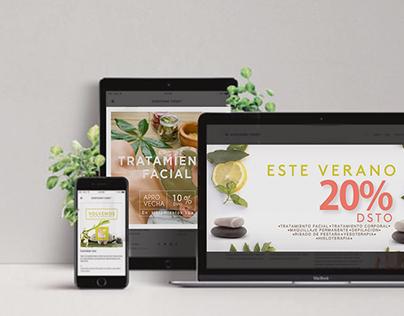 Marianelas spa /Diseño digital