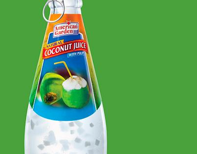 American Garden COCONUT Juice