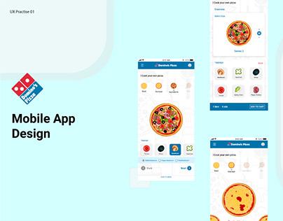 Online Food Order App - Interaction Design