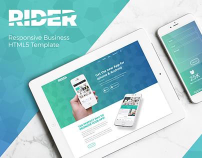 Rider   Multi-Purpose HTML5 Template