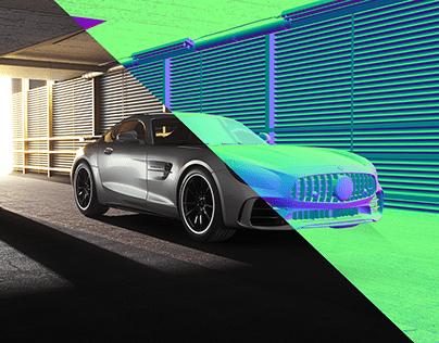 AMG GT FULL CGI