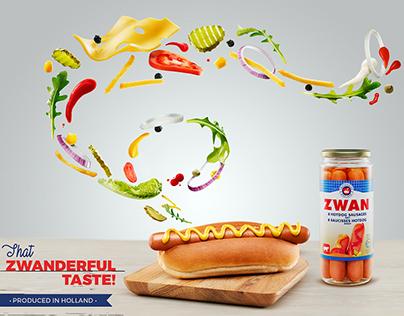 Zwan Hotdog Sausage