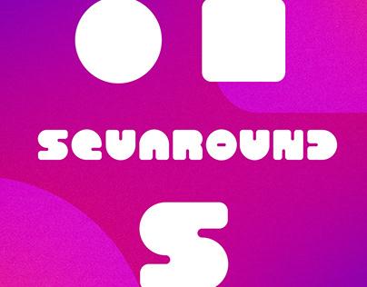 SQUAROUND S - Typeface