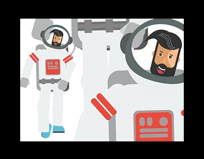 Astroman walk