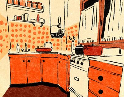 Cocinas // Ilustraciones