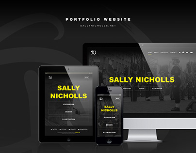 Sally Nicholls | Web design and build