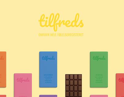 Tilfreds sjokolade