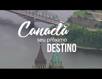 Divulgação vídeo de destinos: Intercâmbio no Canadá