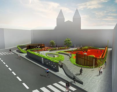 New public space for Copenhagen, Denmark