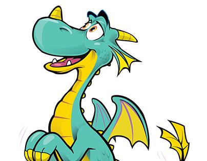 Mayhem Dragon animation