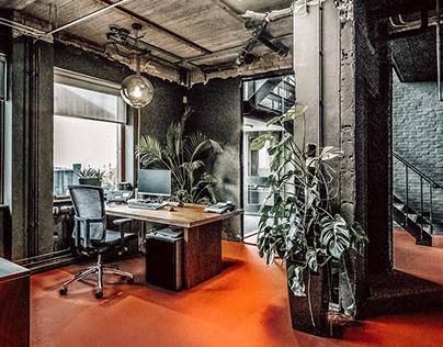 Office design, Beverwijk (the Netherlands)