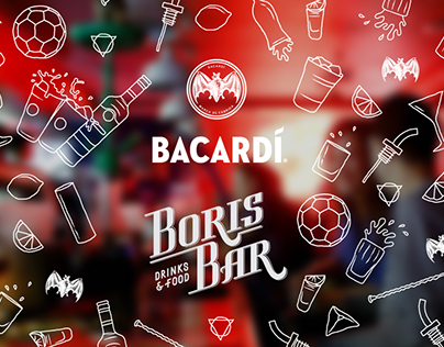 Boris Bar x Baccardi aprons / Барные фартуки