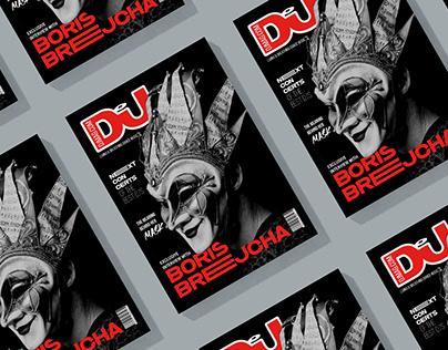 Redesign DjMag Magazine/Boris Brejcha